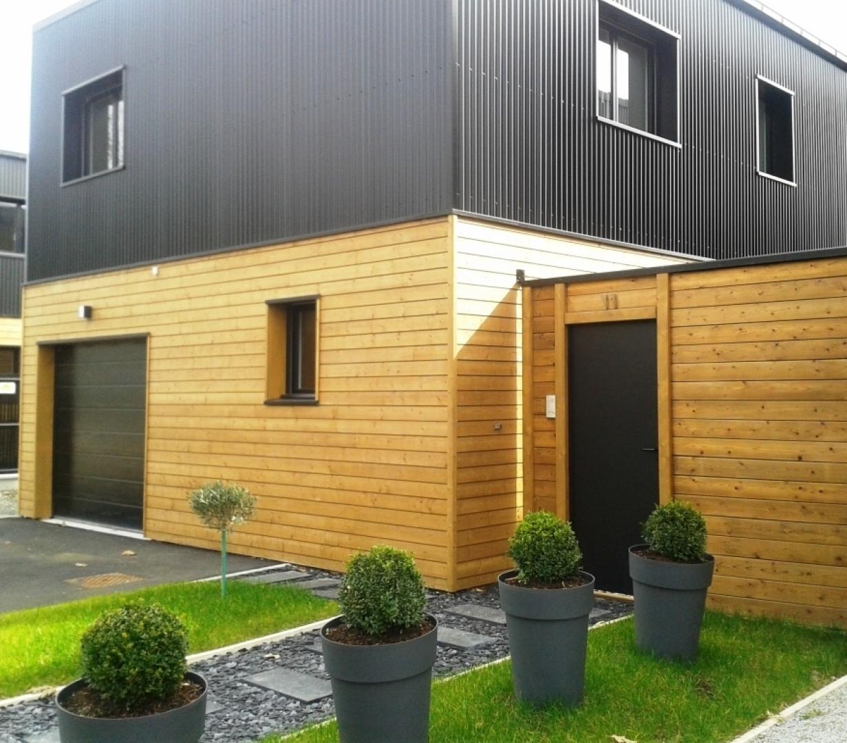 chantier wood loft noyal sur vilaine isola maisons bois. Black Bedroom Furniture Sets. Home Design Ideas