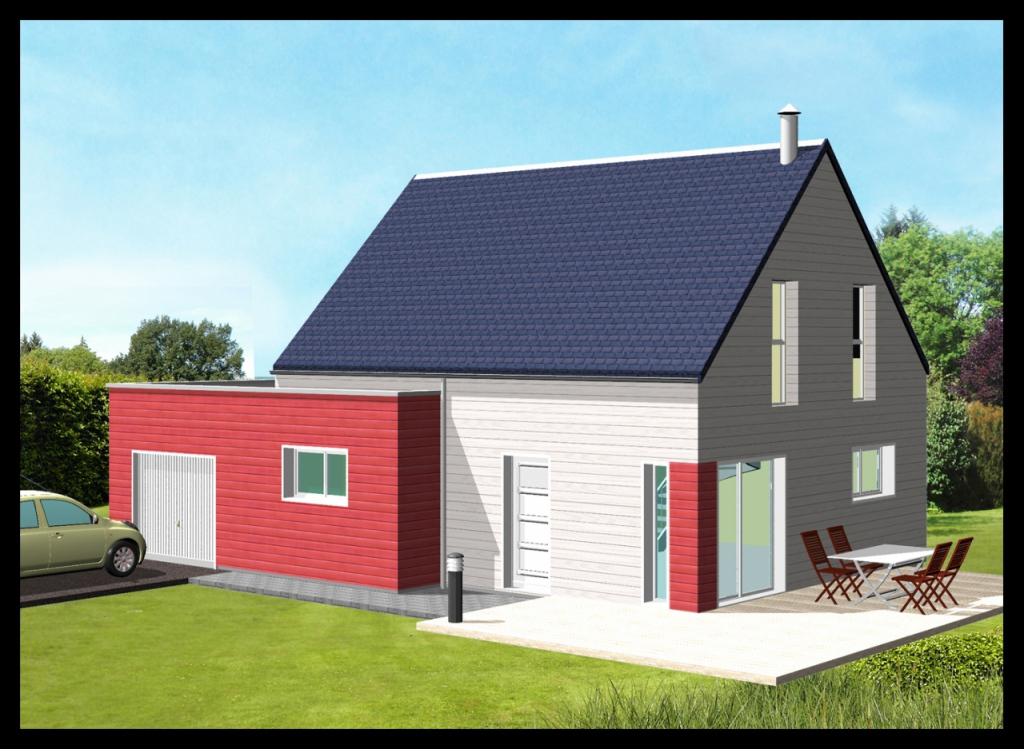 maison bois clef en main obtenez des id es de design int ressantes en utilisant. Black Bedroom Furniture Sets. Home Design Ideas